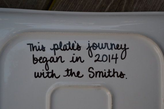 The Giving Plate Custom Serving Plate by TheLoftySparrow on Etsy