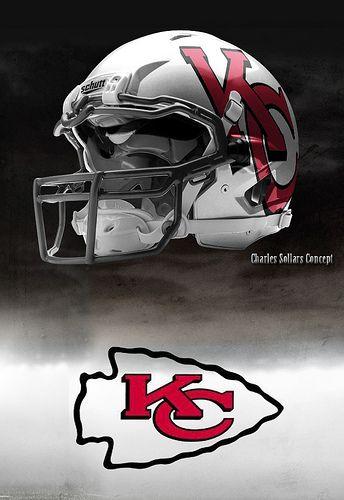 Kansas City #Chiefs sexy helmet