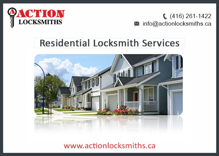 Action Locksmiths is a well- established Residential Locksmith Toronto Company protecting the residential complexes and homes by providing dependable 24-hour Residential locksmith services in Scarborough. With priority to customer satisfaction, all the locking and security solutions are designed by the experienced experts.