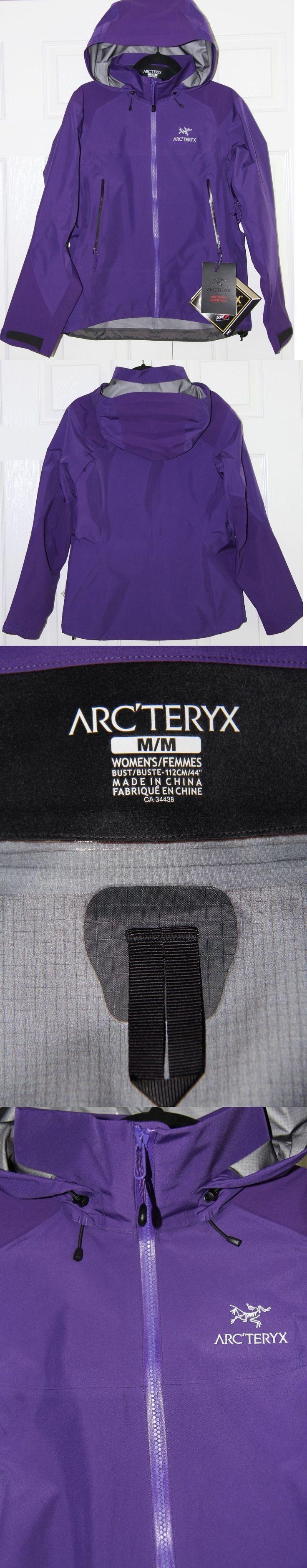 Coats and Jackets 181365: Arc Teryx Beta Ar Gore-Tex Pro Jacket Women S - Medium M - Azalea (Purple) - New -> BUY IT NOW ONLY: $517.45 on eBay!