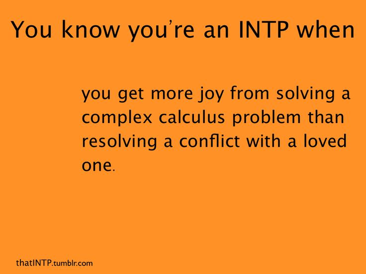 #INTP - maybe not calculus, but doing my taxes does excite me a little too much :)