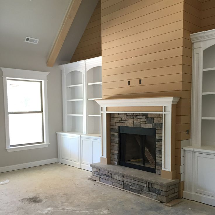 103 best bookcases images on Pinterest   Bookcases, Fireplace ...