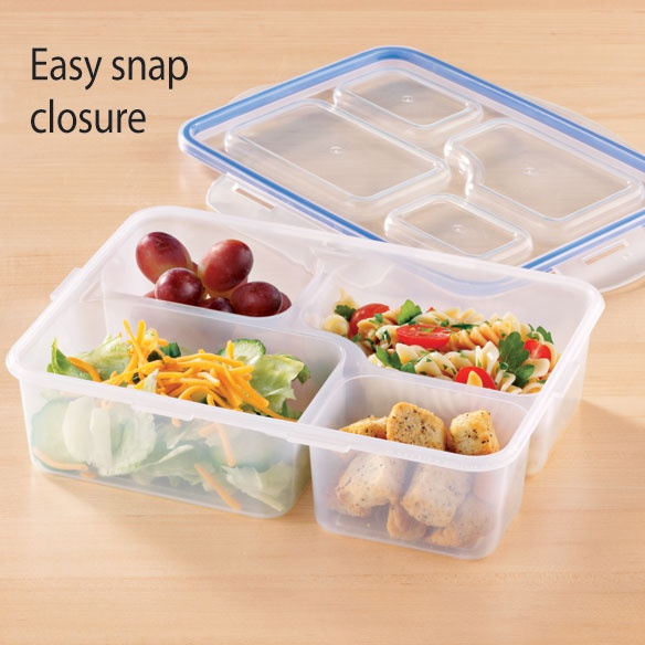 divided lunch container changing one meal at a time. Black Bedroom Furniture Sets. Home Design Ideas