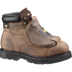 Buy Caterpillar Mens Assault 6-Inch Steel Toe Work Boots Brown 9.5 online - Give your foot the ultimate protection with the Caterpillar metatarsal guard: it protects your foot from impact and compression while...
