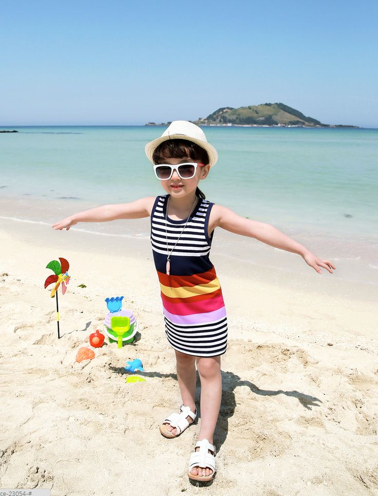 Korea children's No.1 Shopping Mall. EASY & LOVELY STYLE [COOKIE HOUSE] Polaen Chaos One Piece / Size : S, M, L / Price : 17.05 USD Attractive Chic Color Mix! S ~ beach in one piece dangara~ Daily youthful look good to wear beachwear!  (2 color / 7 ~ 17 to No.)  #kidsdress #dress #ops #kidsops #koreakids #kids #kidsfashion #cute #COOKIEHOUSE #OOTD
