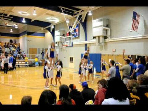Easy and showy cheer stunts                                                                                                                                                                                 More