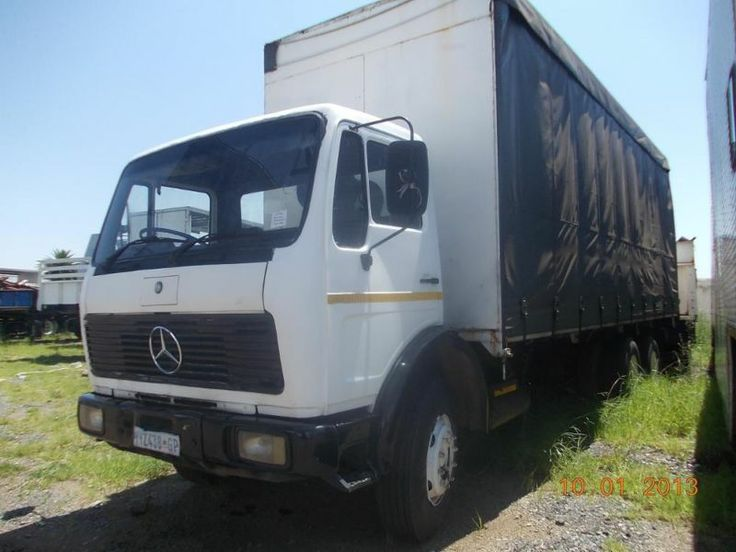 A WELL TAKEN CARE OF 1996 MERCEDES POWERLINER WITH 10 CUBIC TIPPER AND CURTAIN SIDE BODY GOING FOR SALE AT A CHEAP PRICE. CALL MAX TODAY ON ( 27745457172) FOR MORE DETAILS.