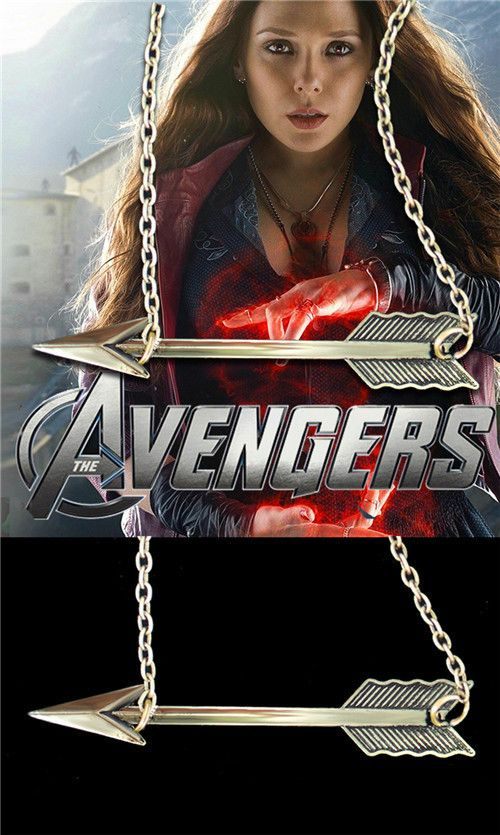 Модное ожерелье Зеленая стрела на цепочке по мотивам Marvel Comics .