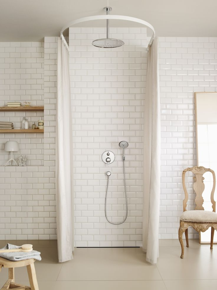 Classic design: #Hansgrohe #Raindance Overhead Shower