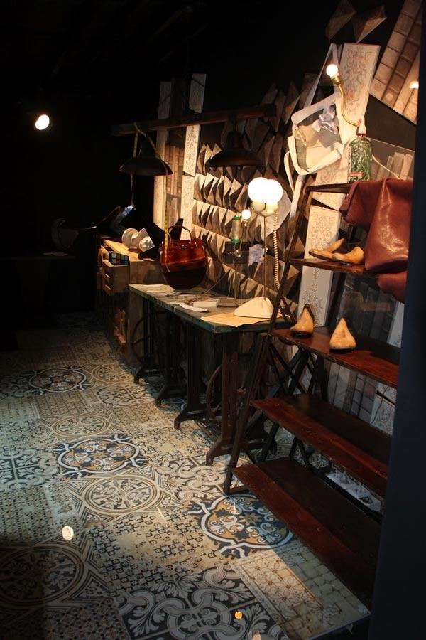 Mobiliario vintage de la firma Francisco Segarra en FLASHBAG by Peronda Cerámicas