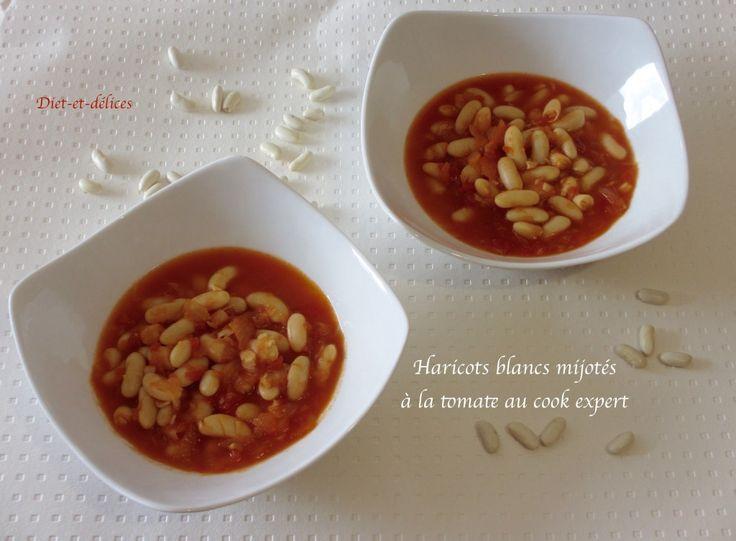 Haricots blancs mijotés à la tomate au cook expert : Diet & Délices - Recettes dietétiques