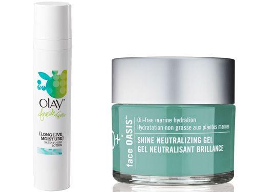 Best moisturizers for: oily skin