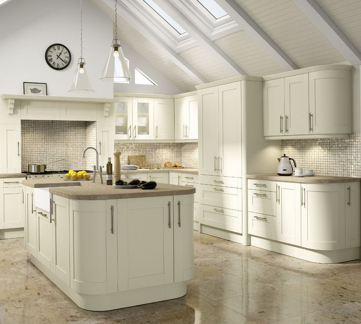Tuscany Ivory Kitchen - Choose Style available at Kitchens Direct NI