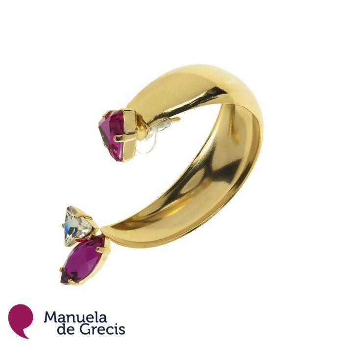 ...e per stasera, orecchino Cecilia!!!  Visita il sito --- http://manueladegrecis.com/shop/orecchino-cecilia-oro-p-85.php --- per saperne di più ...