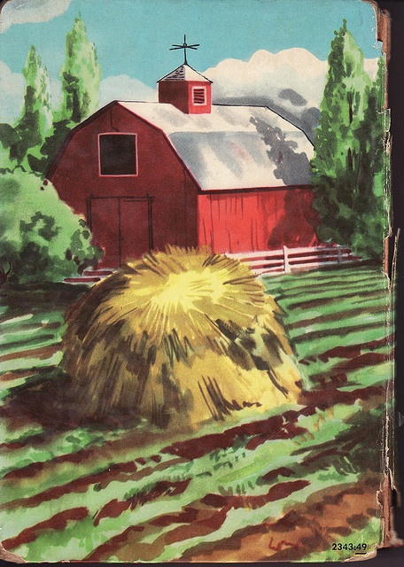 The Bobbsey Twins - #28 On a Ranch - by Laura lee Hope - HC-DJ