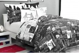 Passport's newspaper print is so new and now. Passport will give your bed the star treatment that it deserves. Catching 40 winks has never been so easy and stylish!