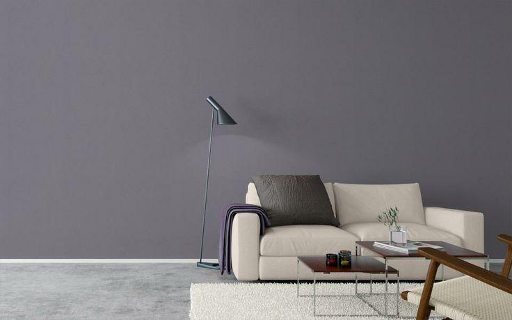 Grå, metallic. Eco wallpaper