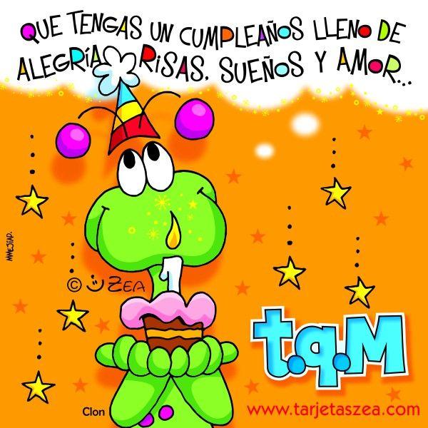 Que tengas un cumpleaños lleno de alegrías ✿⊱╮Teresa Restegui http://www.pinterest.com/teretegui/✿⊱╮