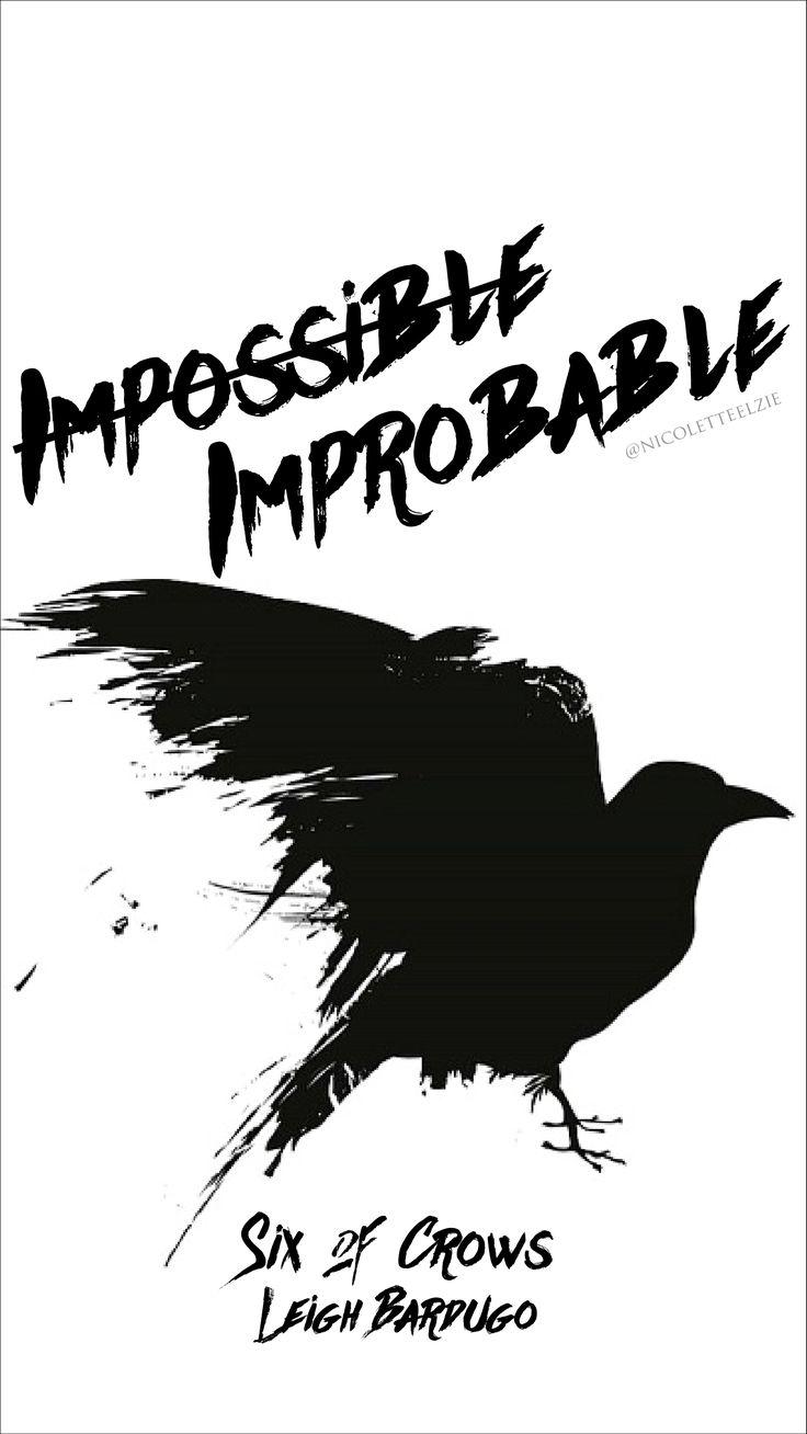 Six Of Crows Iphone Wallpaper 01 Nicolette Elzie Blog