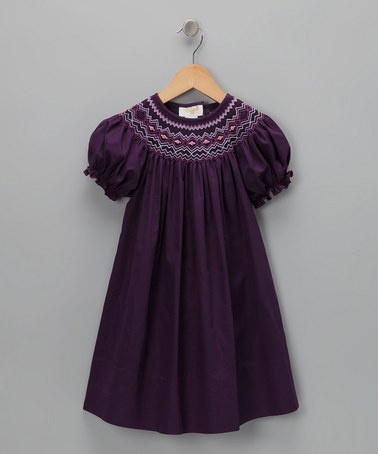 Love this color so much- ordered for CCGirls Generation, Deep Purple, Colors, Toddler Girls, Toddlers Girls, English Bishop, Smocking, Bishop Dresses, Purple English
