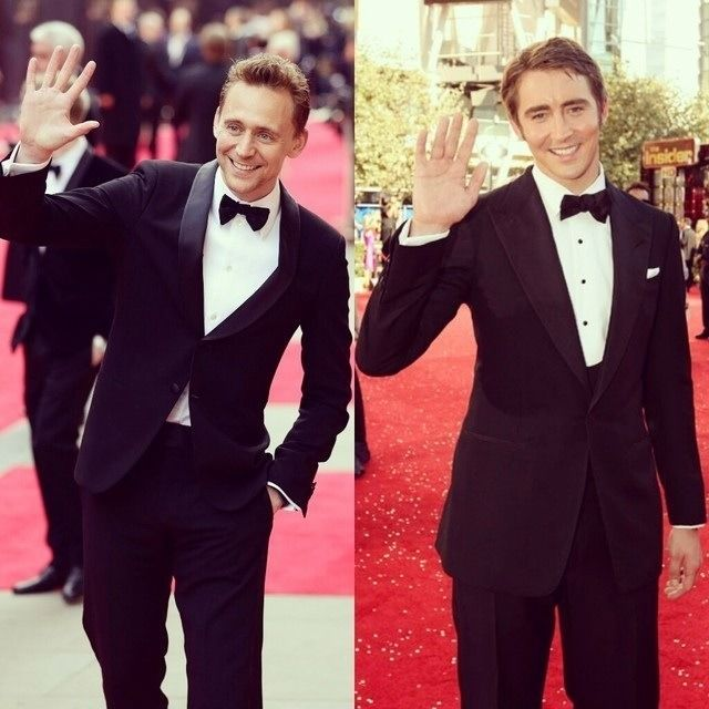 Hiddles and Lee Pace ♥..♥ Hi, darling guys ! PERFECT pic ...