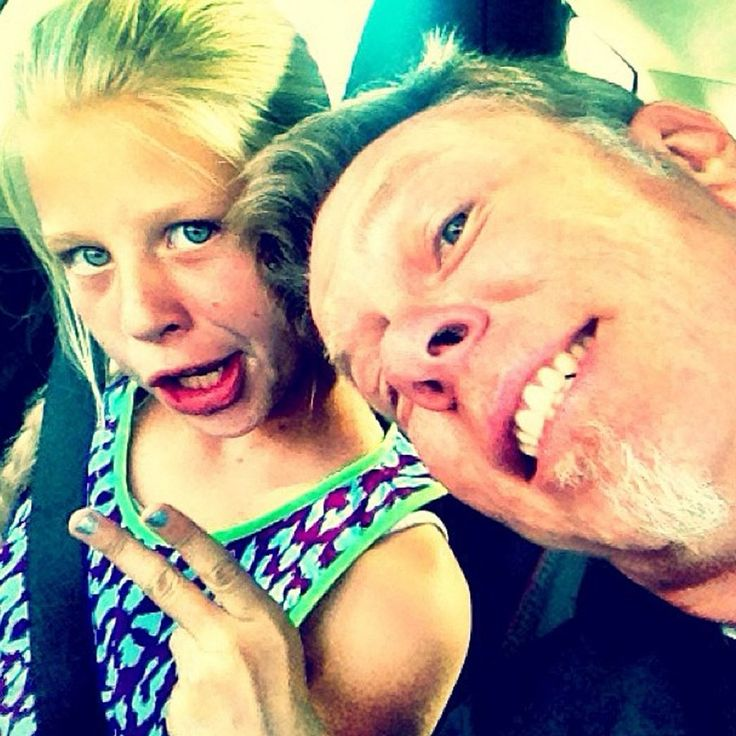 """James Hetfield on Instagram: """"Me and Cella goffin off waiting for Cali. #mff #friday"""""""