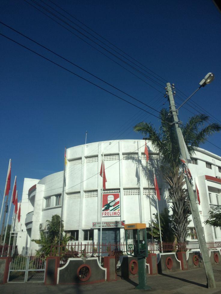 Frelimo Building Inhambane