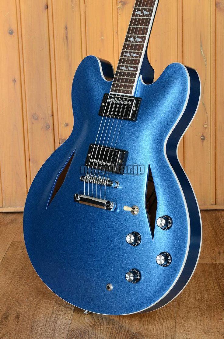 デイヴ・グロール ギター dg 335 ブルー