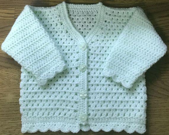132 Best Crochet Baby Cardigans Images On Pinterest Crochet Baby