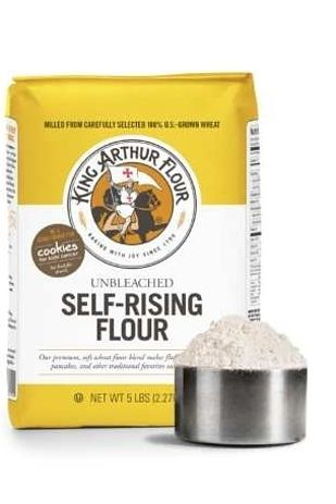self rising flour vs regular flour