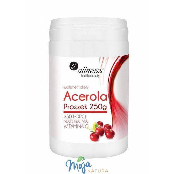 Acerola Proszek 250g MEDICALINE naturalna witamina C w MojaNatura.pl
