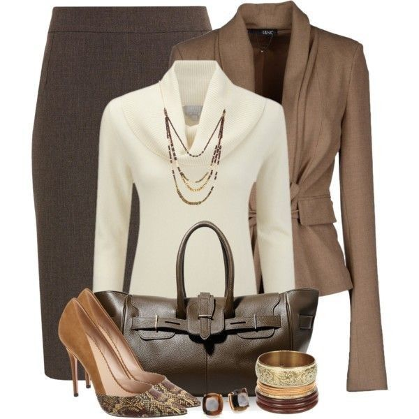 80 Elegant Work Outfit Ideas in 2017  - Are you looking for catchy and elegant work outfits? We all know that there are several factors which control us when we decide to choose something to... -  work-outfit-ideas-2017-30 .