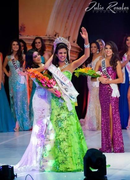 La ecuatoriana Dayanara Peralta, de 16 años, fue coronada como Miss Teen Universe 2015 en una gala que se realizó en Guatemala. Foto: Facebook oficial Miss Teen Universe