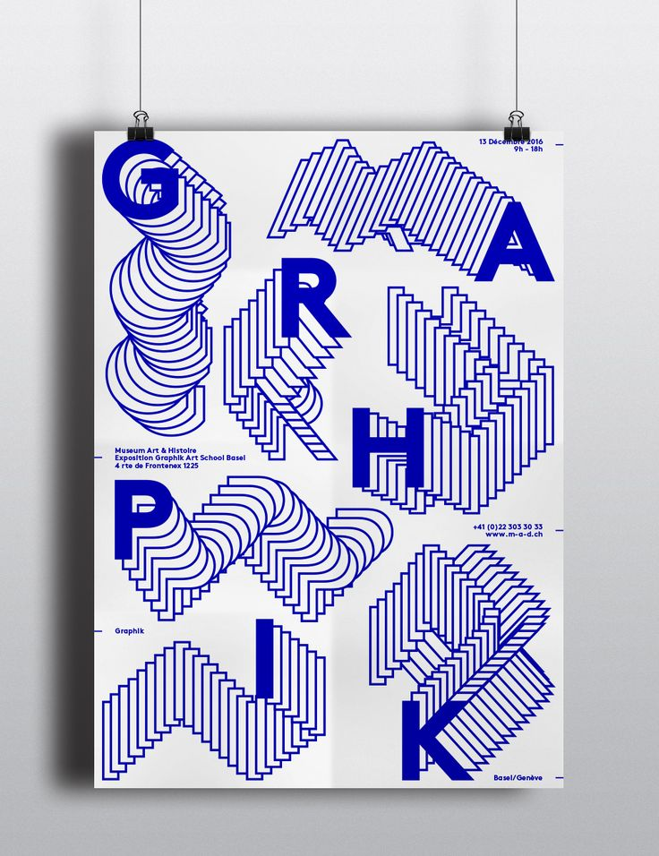 "Check out this @Behance project: ""Poster – Graphik"" https://www.behance.net/gallery/31081175/Poster-Graphik"