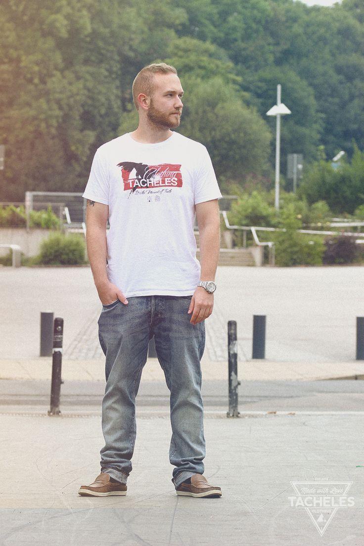 Tacheles Clothing T-Shirt aus der Summer/Autumn Quick Strike Kollektion 2014  Follow us: Website: http://www.tacheles-clothing.de Facebook: http://www.facebook.com/tacheles.offiziell Instagram: http://www.instagram.com/tachelesclothing