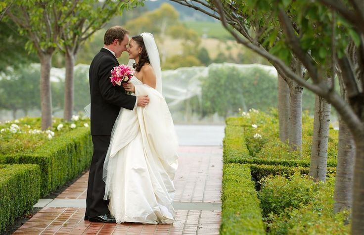 Beautiful Wedding Photos in our entrance Archway in Summer