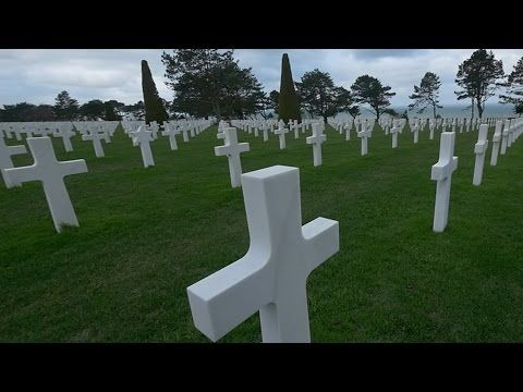 We visited the historical sight of Omaha beach, Point du Hoc and the American cemetery. #Normandy