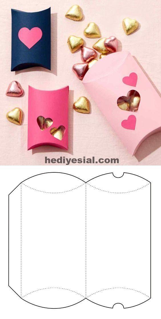 Box für Süßigkeiten in Pink – Pink Box , #igkeiten #present