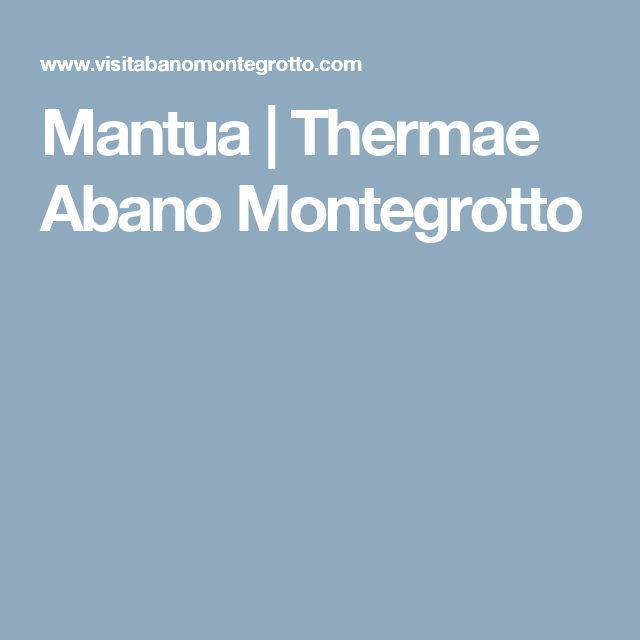 Mantua | Thermae Abano Montegrotto