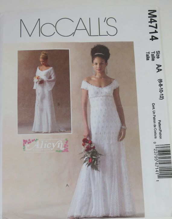 1000 best images about bridal patterns through the years for Mccall wedding dress patterns