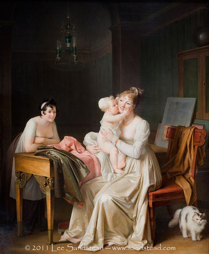 Marguerite Gerard, Motherhood, ca. 1805