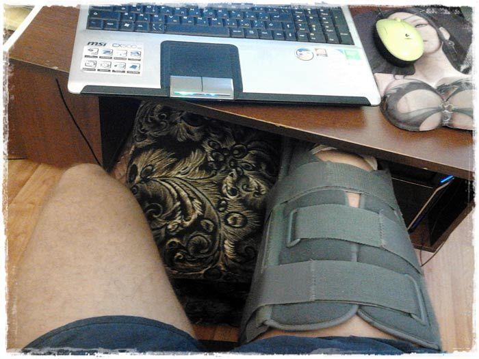 Никита Волков травма колена
