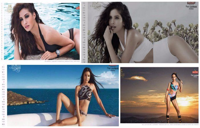 #KingfisherCalendar – Long Months of 2017 with Insanely Stunning Models in Swimsuits