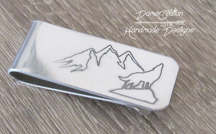 Wallet Clip for Men, Money Clip Wallet Personalized Gifts, Wolf Gifts for Men, Mountain Man Gifts, Wolf Wedding Gifts, Wolf Money Clip by DameCreation on Etsy https://www.etsy.com/listing/593697771/wallet-clip-for-men-money-clip-wallet #moneyclipsformen #wolfmoneyclip #wolfgifts #wolfgiftsformen #wolfforest #wolfformen #howlingwolf #moneyclipwallet #wolfandmountains #mountains #giftsforhim #mengifts