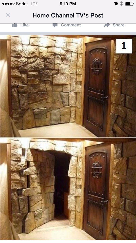 Hidden Door Hinges Home Depot Bookcase Kit Secret Dungeon Mirror