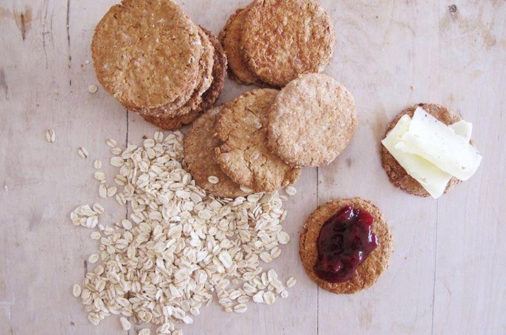 LowFOMAP / lavFODMAP Oat biscuit Havrekjeks