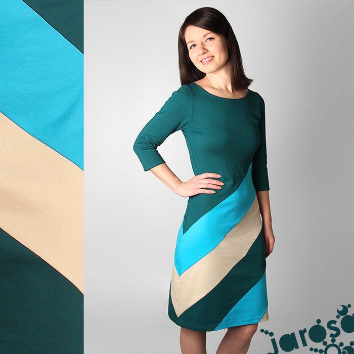 šaty Madison Velice pohodlné šaty z teplejší a hodně pružné tričkoviny. Šaty odpovídají velikosti cca 38,na fotografii je vidíte na postavě s mírami viz níže. Pokud si je přejete ušít v jiné velikosti, nebo je jen prodloužit či zkrátit, stačí se se mnou domluvit(DODACÍ LHŮTA 3 TÝDNY). D = 95 cm; R = 31 cm Materiál: 95% bavlna, 5% elastan