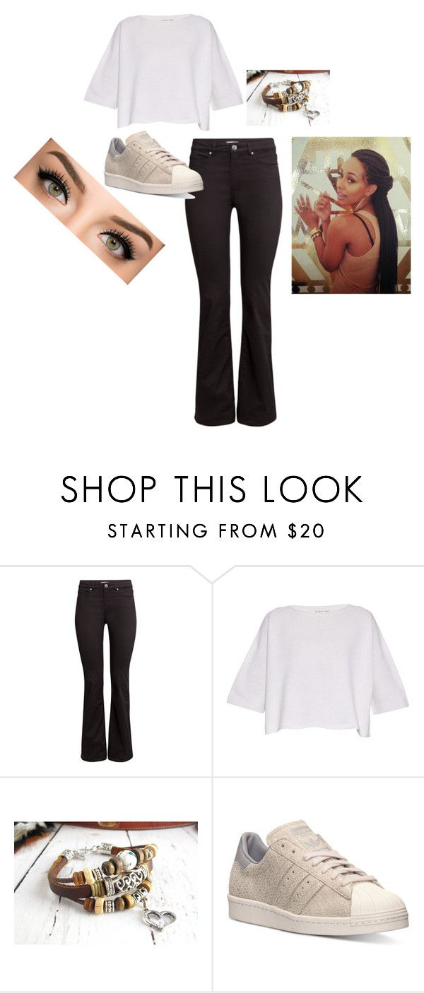 Helmut by zeecake1 on Polyvore featuring Helmut Lang, H&M, adidas, Shin Choi, women's clothing, women's fashion, women, female, woman and misses