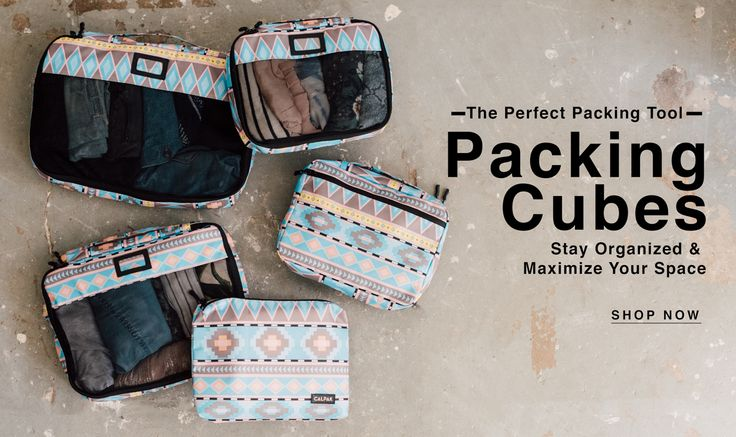 CALPAK - PACKING CUBES - TRAVEL ACCESSORIES