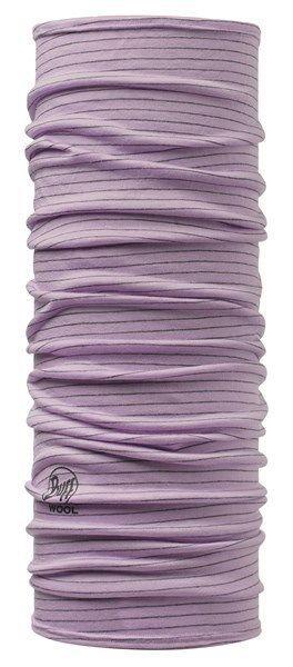Buff Merino Wool Dyed Stripes Lavender Headgear 108821 Purple Striped #Buff